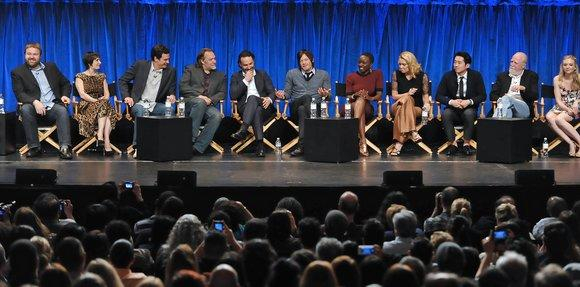 """The Walking Dead"" cast and producers"