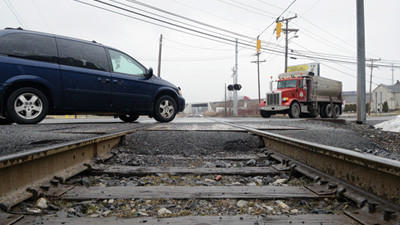 The state has scheduled a hearing to discuss ways of improving safety at the Route 281 railroad crossing in Somerset.