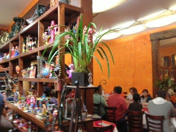 The gift store and expanded dining room at La Casita Mexicana in Bell.