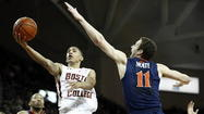 Virginia squanders a late 8-point lead at Boston College. Ole Miss flops against a Mississippi State team that had lost 13 straight. Baylor botches an inbounds pass and allows a game-winning three, all in the final second — emphasis on singular — of regulation against Kansas State.