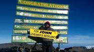Newport News personal trainer Brian Cole scaled Mt. Kilimanjaro in Tanzania, the tallest freestanding peak in Africa, in February. After altitude sickness foiled his climb a couple of years ago, Cole recommitted to the effort to reach the summit, 19,000 feet+, as a tool to fundraise for Alzheimer's research. He dedicated his 2013 climb to his friend John Hightower, former head of the Mariners' Museum in Newport News, who has an Alzheimer's diagnosis.