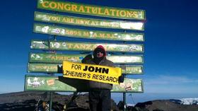 NN  personal trainer scales Mt. Kilimanjaro for Alzheimer's research