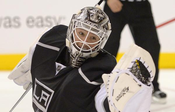 Kings goalie Jonathan Bernier is 6-1 against Nashville, with one shutout and a 2.00 goals-against average.