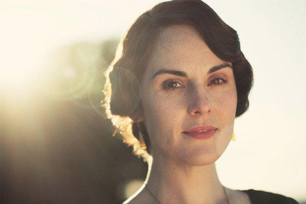 "Michelle Dockery plays Lady Mary in ""Downton Abbey."""