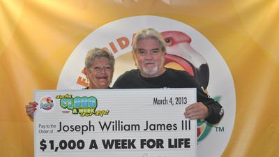 Fort Lauderdale man wins $1K for life, takes quick cash