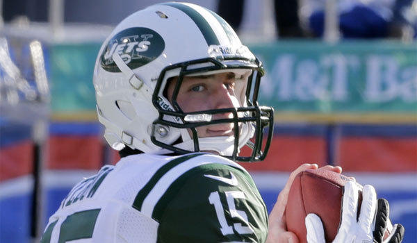 Tim Tebow didn't see much playing time with the New York Jets last season but could still be in the mix down the road.