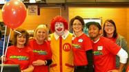 Washington School McTeachers serve us McFun for the community