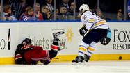 NHL disciplinarian Brendan Shanahan has been busy lately. On Monday he suspended Buffalo Sabres forward Patrick Kaleta for five games without pay for a dangerous boarding infraction Kaleta committed against Brad Richards of the New York Rangers on Sunday night.