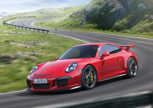Porsche's all-new 911 GT3 is the most powerful naturally-aspirated car the company makes. It has 475 horsepower and will do zero to 60 mph in 3.3 seconds.