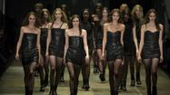 "PARIS -- California ladies of the canyon was the vibe of Hedi Slimane's first women's Saint Laurent ready-to-wear runway collection <a href=""http://articles.latimes.com/2012/oct/01/news/lat-ar-paris-fashion-week-2013-saint-laurents-ladies-of-the-canyon-20121001"" target=""_blank"">shown in October</a>. And this time, it was California grunge."