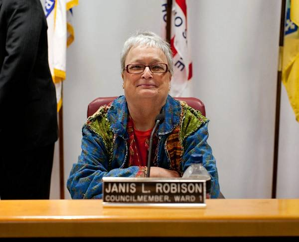 A native of Portsmouth, Ohio, Janis Robison moved to Laurel in 1973 with her husband, John, and they eventually lived in a Montgomery Street house John Robison's grandfather had built.