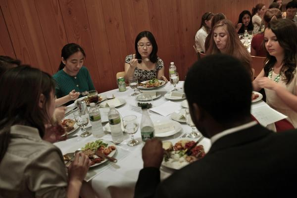 At MIT, students learn about etiquette in Charm School.