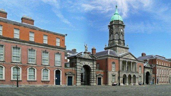 Dublin Castle, one of the stops on a Fitzgerald clan tour of Ireland scheduled for late June.