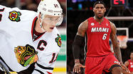 Pointless only applies to the Blackhawks this season when debating whether they or the Miami Heat are the best team in sports.