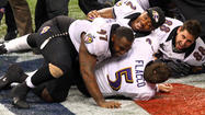 Ravens quarterback Joe Flacco insisted he was only joking during the final seconds of the Super Bowl when he was captured on camera saying he or his teammates should tackle San Francisco 49ers returner Ted Ginn Jr. if he broke into the open field.