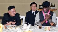 Dining with Kim Jong-Un