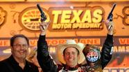 The National Rifle Association will be the title sponsor for the NASCAR Sprint Cup race at Texas next month.