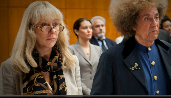 "Al Pacino and Helen Mirren as  legendary music producer Phil Spector and his defense attorney in the HBO movie ""Phil Spector"" premiering 9 p.m. March 24."