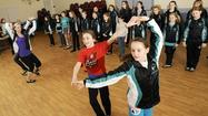 Irish dancers from Lutherville school get in step for St. Patrick's parade