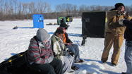 At-risk boys in One Hope United's residential CARE program in Lake Villa, Ill., enjoyed a wintry morning catching fish Sunday, Feb. 24, as part of an Ice Fishing Derby hosted by One Hope United Northern Region and the Fox River Valley Chapter of Muskies, Inc.