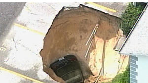 Kansas sinkhole disaster--just a matter of time?