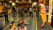 "LTSC ""Goes Active"" with Ronald McDonald at the Winter Academy"