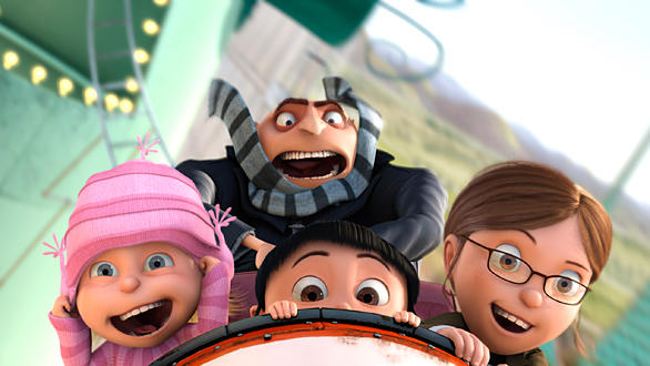 "The ""Despicable Me"" 3-D attraction set to open in 2012 at Universal Studios Florida."