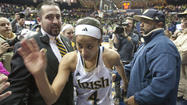 "<span style=""font-size: small;"">SOUTH BEND -- No way she was going to let her team lose.</span>"