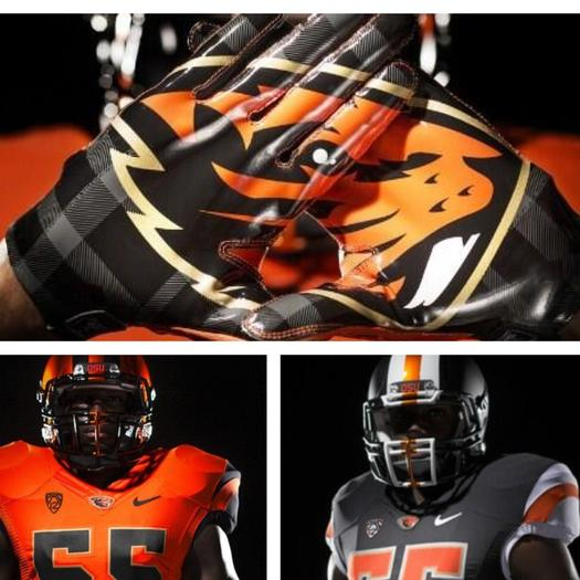 Oregon State uniforms