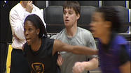 The Wichita State women practice like all other teams around the country: aggressive, energetic, loud and focused.