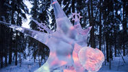 Carvers from Russia and Japan took top honors at the World Ice Art Championships in Fairbanks.