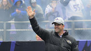 Life returning to normal for Ravens coach John Harbaugh