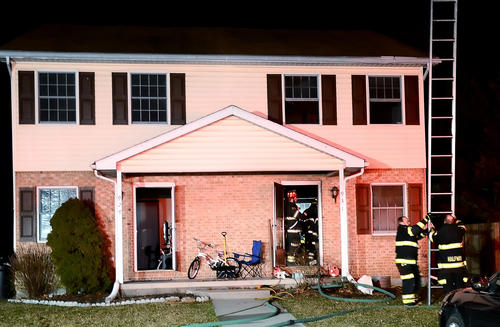 It took firefighters about 20 minutes to control a house fire at 931 Harwood Road in Halfway on Monday night. No injuries were reported.