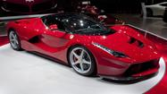 Ferrari unveils all-new hybrid supercar -- and calls it LaFerrari