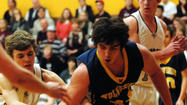 PELLSTON — Kyle Frost scored the game-winning basket with seven seconds showing on the clock in the third overtime period to lift Wolverine over Harbor Light Christian, 64-60, in a thrilling contest to open the Pellston Class D district tournament Monday.