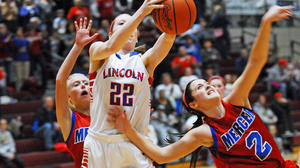 Prep Basketball: Lincoln girls outlast Mercer 66-59 in 12th Region semifinal