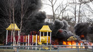 Two juveniles arrested in second Laurel playground fire