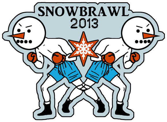 #SNOWBRAWL2013 in Wicker Park, March 5.