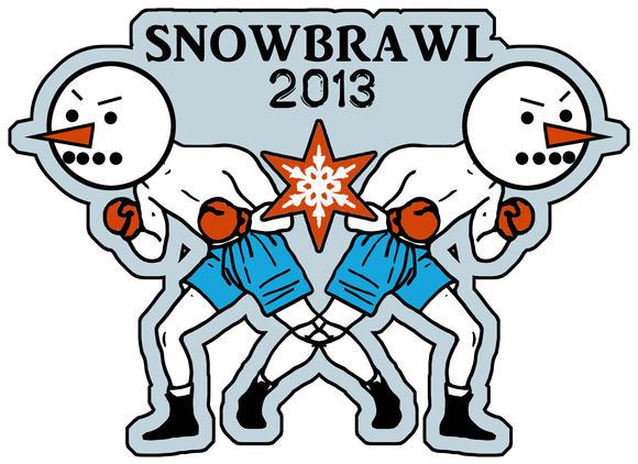 #SNOWBRAWL2013 in Wicker Park, March 5.