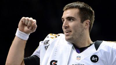 ... Ravens quarterback...