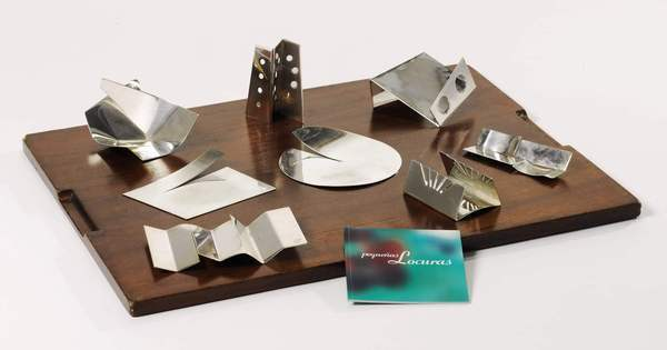 Petit fours servers, one of the new lots of elBulli memorabilia and kitchen equipment added to Sotheby's auction of the famed restaurant's wine cellar.