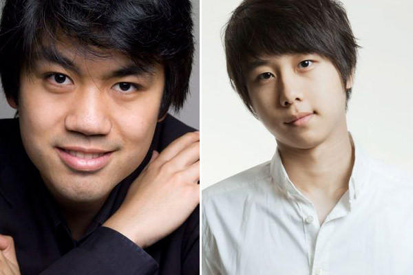 Pianist Sean Chen, 24, left, and 24-year-old Steven Lin were elected to participate in the 14th Van Cliburn International Piano Competition.