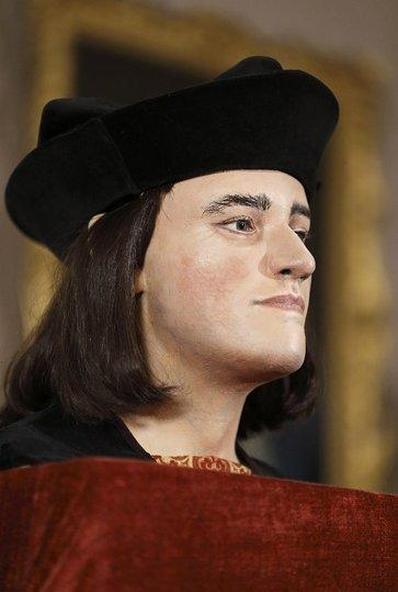 A plastic model of King Richard III was displayed recently after scientists identified his remains. Now two researchers have taken a shot at psychoanalyzing him, though they acknowledge the historical record is limited.