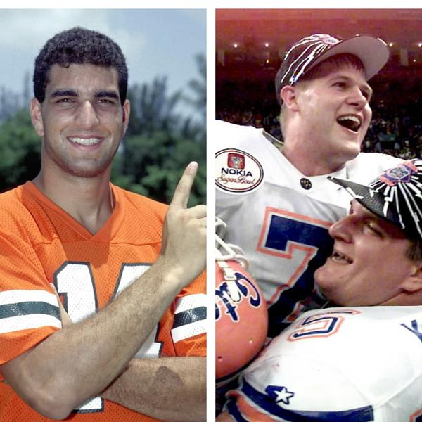 Former Miami Hurricanes quarterback Vinny Testaverde and former Florida quarterback Danny Wuerffel are two of the 77 candidates on this year's College Football Hall of Fame ballot.