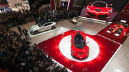 Panorama: LaFerrari unveiling at the 2013 Geneva Motor Show