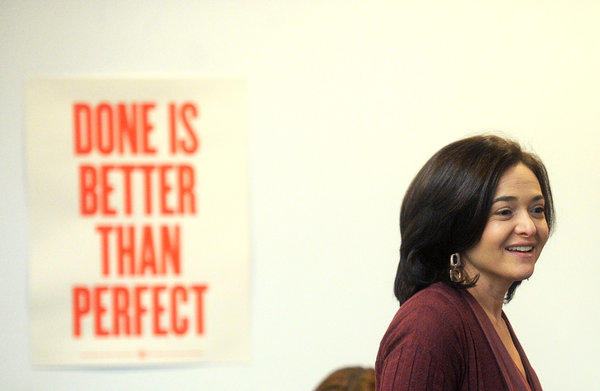 Facebook COO Sheryl Sandberg's new book is already sparking controversy across the media.