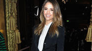 "Actress Jessica Alba made the rounds at Paris Fashion Week sitting front row at Stella McCartney, <span class=""text"">Shiatzy Chen and Valentino. For the most part, Alba wore variations of black and white pieces with a plain white top and black slacks at Valentino, a black suit and white oxford shirt at McCartney and a coat so darkly gray it looked black at Chen. </span>"