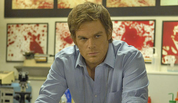 "Michael C. Hall as the title character in ""Dexter."""