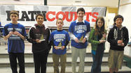 More than 100 students participated from area middle schools in the annual MathCounts Competition on Feb. 23 at E. Russell Hicks Middle School in Hagerstown.