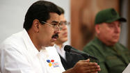 "CARACAS, Venezuela -- In a move that heightened tensions surrounding the health of cancer-stricken President Hugo Chavez, his vice president on Tuesday expelled the U.S. Embassy's military attache, accusing him of ""proposing destabilizing plans"" to members of Venezuelan armed forces."
